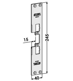 Monteringsstolpe ST4001-15