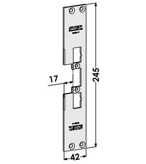 Monteringsstolpe ST4001-17