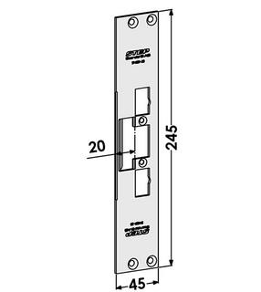 Monteringsstolpe ST4001-20