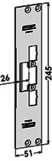 MONTERINGSSTOLPE ST4001-26 STEP