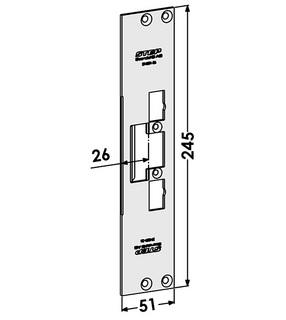 Monteringsstolpe ST4001-26