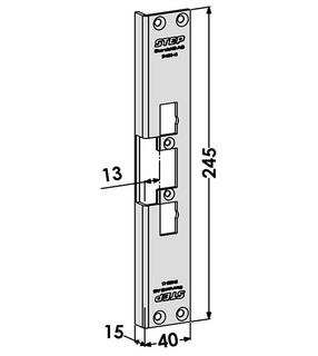 Monteringsstolpe ST4002-13
