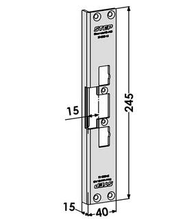 Monteringsstolpe ST4002-15