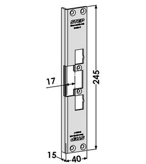 Monteringsstolpe ST4002-17