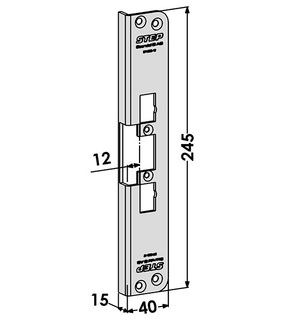 Monteringsstolpe ST4003-12