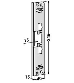 Monteringsstolpe ST4003-15