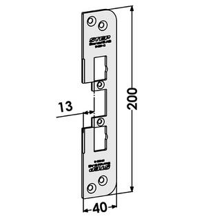 Monteringsstolpe ST4009-13