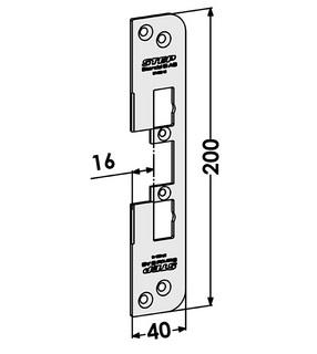 Monteringsstolpe ST4009-16