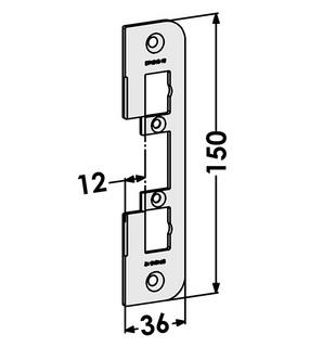 Monteringsstolpe ST4010-12