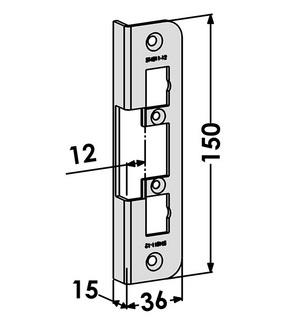 Monteringsstolpe ST4011-12