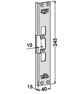 Monteringsstolpe ST4002-10
