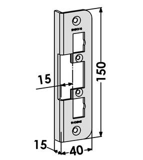 Monteringsstolpe ST4012-15