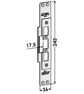 Monteringsstolpe ST4033