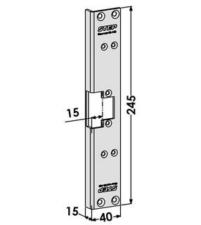 Monteringsstolpe ST6545