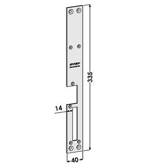 Monteringsstolpe ST188-B Höger