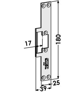 Monteringsstolpe ST4007