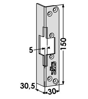 Monteringsstolpe ST4022