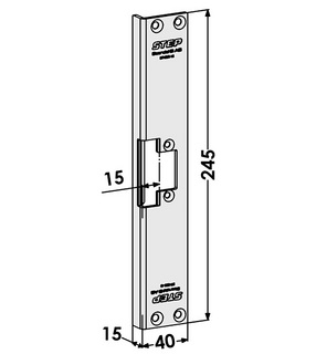Monteringsstolpe ST4060-15