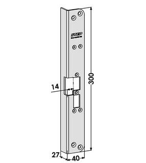 Monteringsstolpe ST6525