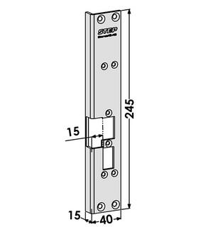 Monteringsstolpe ST6532