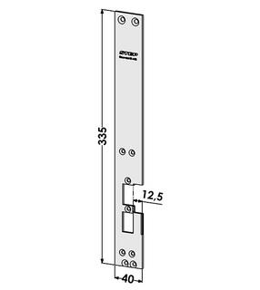 Monteringsstolpe ST6541