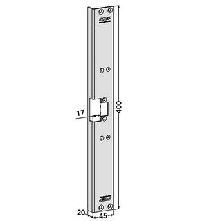 Monteringsstolpe ST6553