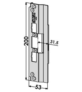 Monteringsstolpe ST4027