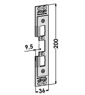 Monteringsstolpe ST4040