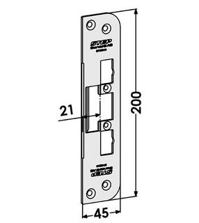 Monteringsstolpe ST4009-21