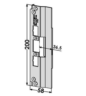 Monteringsstolpe ST4028