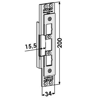 Monteringsstolpe ST4036