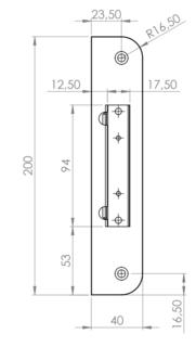 SLUTBLECK 105-1 M MAGNET SAFETRON