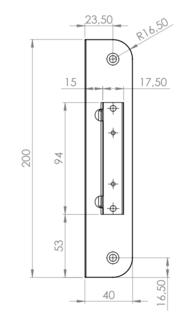 SLUTBLECK 105-2 M. MAGNET SAFETRON