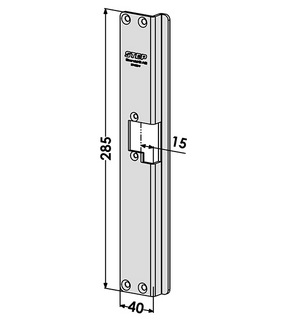 Monteringsstolpe ST4065V Vänster