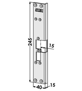 Monteringsstolpe ST6504V Vänster