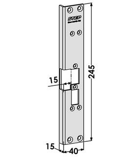 Monteringsstolpe ST6504H Höger