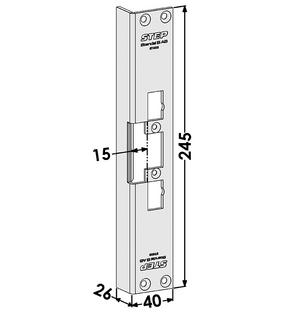 Monteringsstolpe ST4038