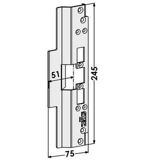 Monteringsstolpe ST6583