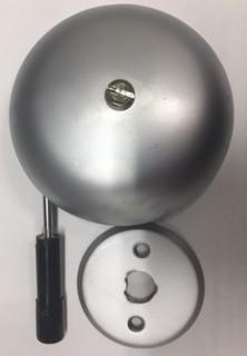 ATE Ringklocka 65-85mm Plåt        Mattkrom