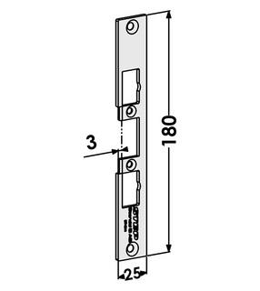 Monteringsstolpe ST4044