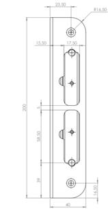 SLUTBLECK 106-2 M. MAGNET SAFETRON