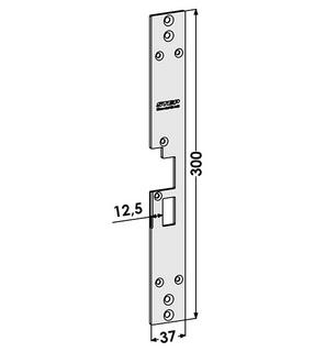 Monteringsstolpe ST1801-B Höger