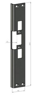 Monteringsstolpe SA30-V Vänster