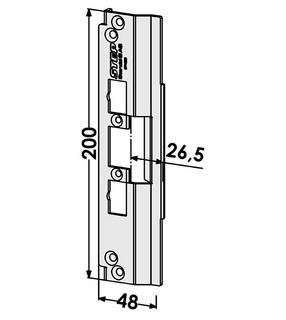 Monteringsstolpe ST4026