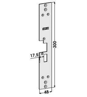 Monteringsstolpe ST1802-B Höger
