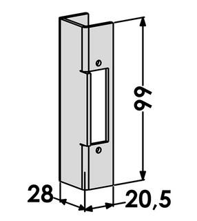 Mekaniskt Slutbleck ST3076