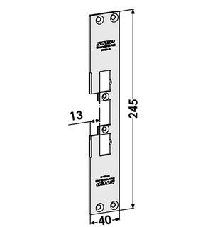 Monteringsstolpe ST4001-13
