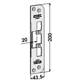 Monteringsstolpe ST4009-20