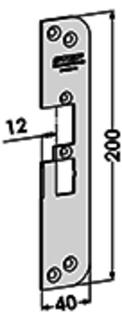 MONTERINGSSTOLPE ST4030H-12 STEP