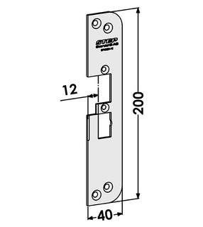 Monteringsstolpe ST4030H-12 Höger